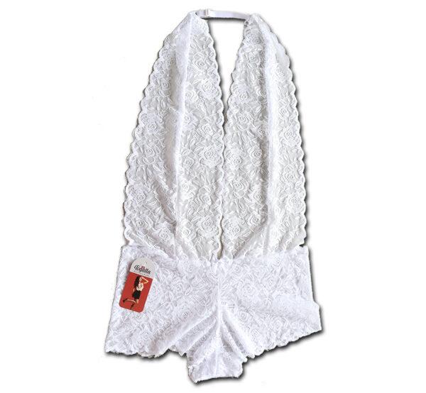 ody Lingerie Renda Frente Única Decotado Branco togatta